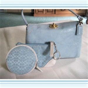 COACH On The Go! Mini Bag, Key/Wallet Change Pouch